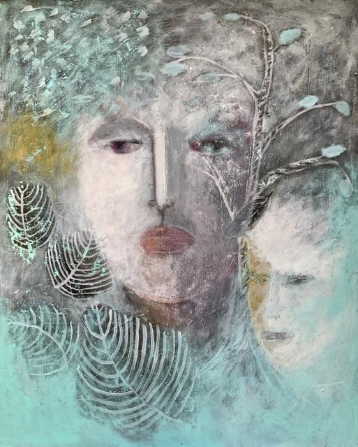 Maleri af Annette Hoff-Jessen. Atelier-Kaiserborgen.