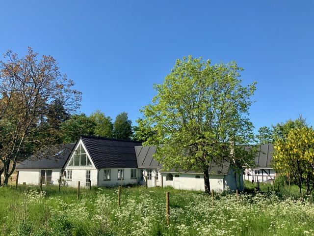 Atelier-Kaiserborgen. Sommer. Annette Hoff-Jessen