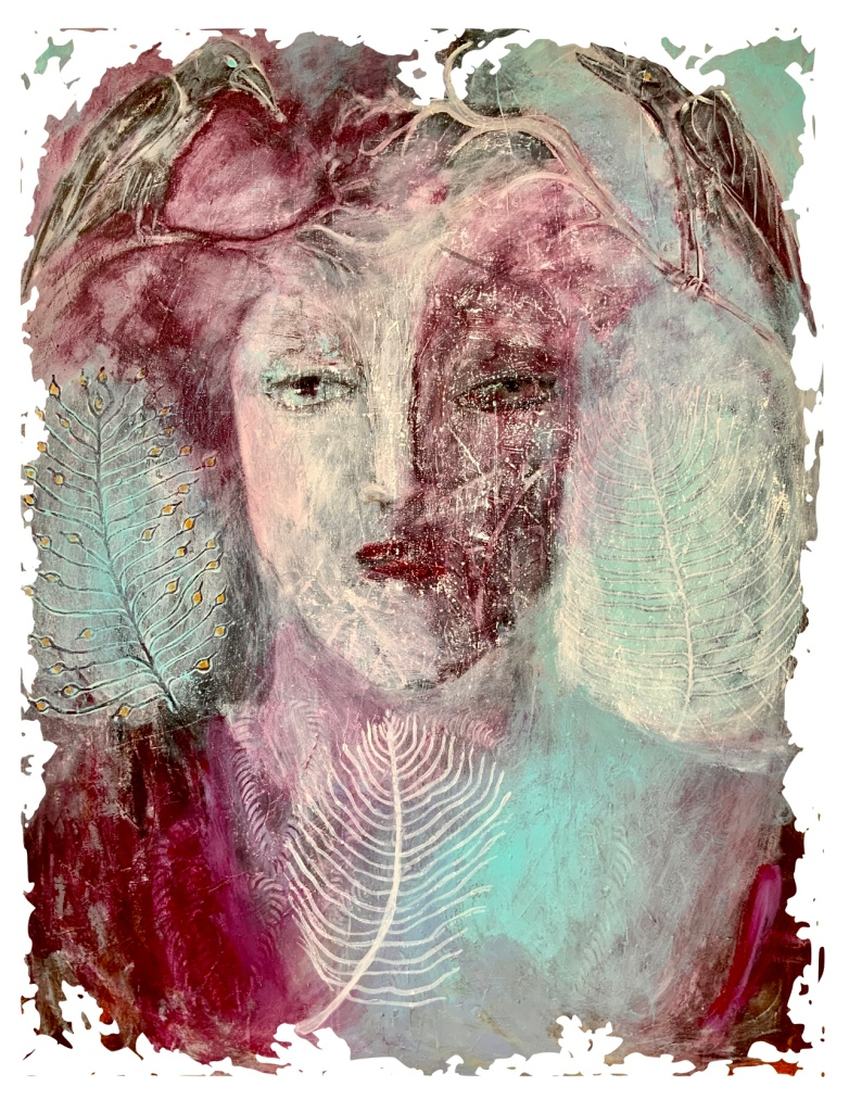 Annette Hoff-Jessen. Maleri. Atelier-Kaiserborgen.
