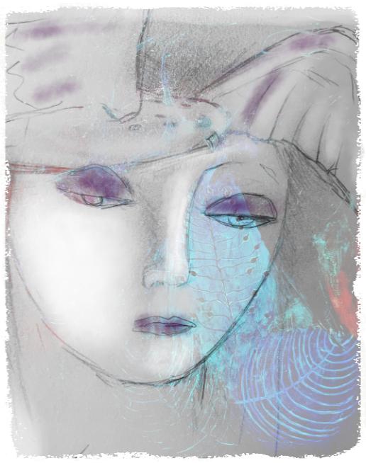 Annette Hoff-Jessen, Digital-kunst, Atelier-Kaiserborgen, Tryk, Print