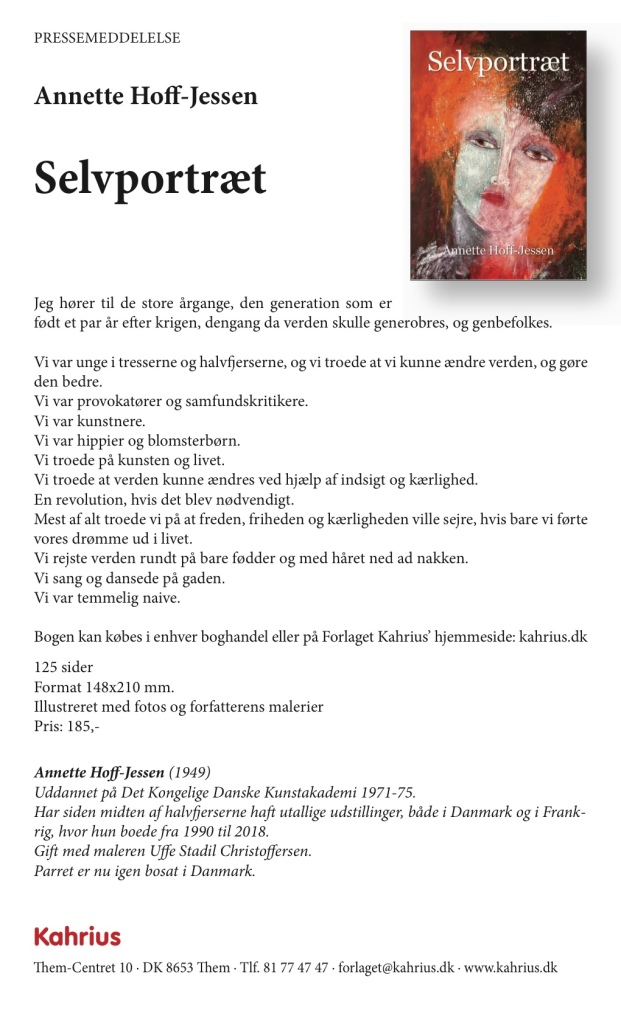 Annette Hoff-Jessen. Bog, Atelier-Kaiserborgen